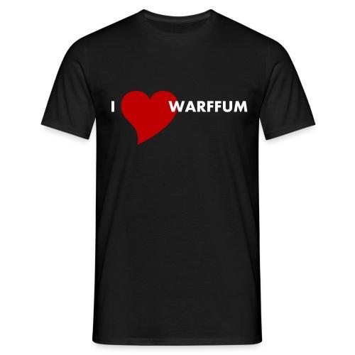 I love Warffum - Mannen T-shirt