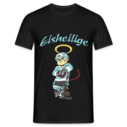 Eisheilige Log weiss png - Männer T-Shirt