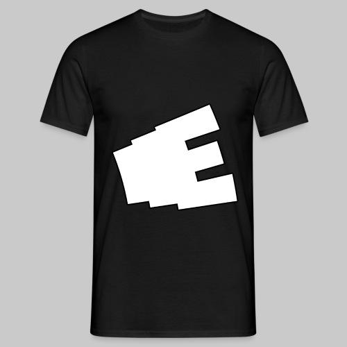 Vit logga - T-shirt herr