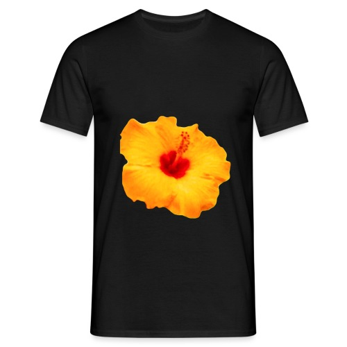 FLOR HAWAII - Camiseta hombre