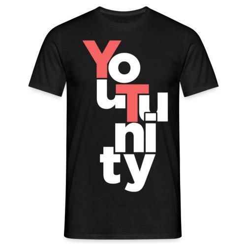 YouTunity png - Männer T-Shirt