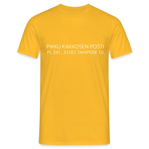 pikku kakkonen posti - Miesten t-paita