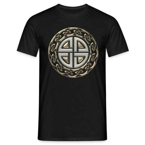 Thor Schildknoten, Schutzsymbol, Keltischer Knoten - Männer T-Shirt