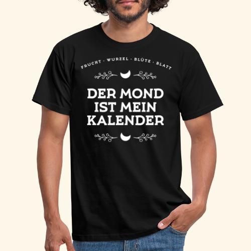 Mondkalender I Geschenk Mond Garten - Männer T-Shirt