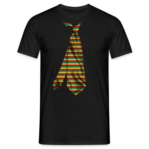 printed funny necktie t shirt design gift idea - Maglietta da uomo