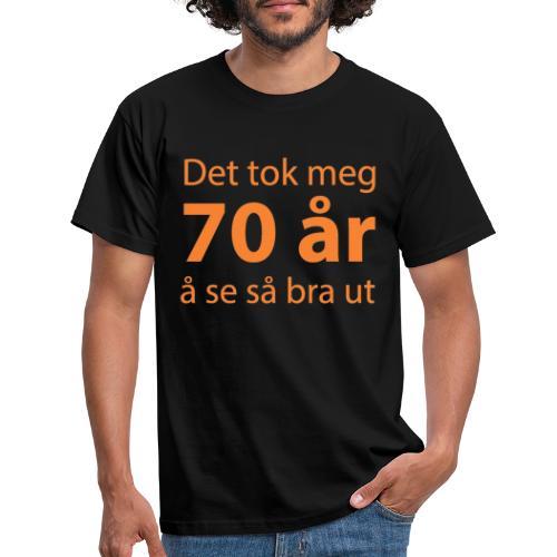 T skjorte til 70 åring - T-skjorte for menn