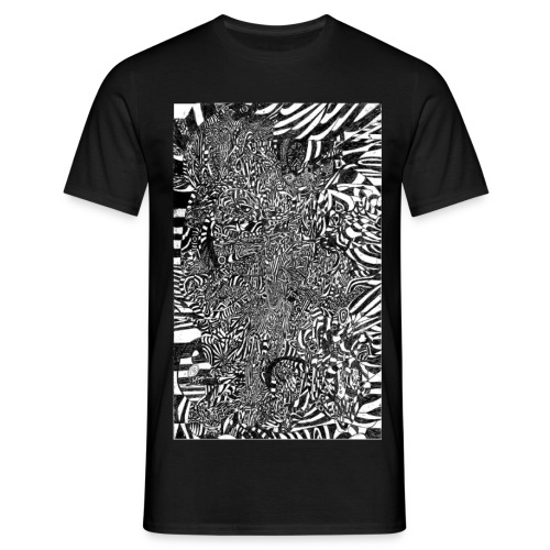 Inter Stellar Dream Warrior jpg - Men's T-Shirt