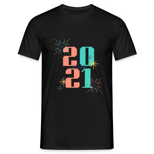 Bold New Year 2021 Occasion T Shirt - Männer T-Shirt