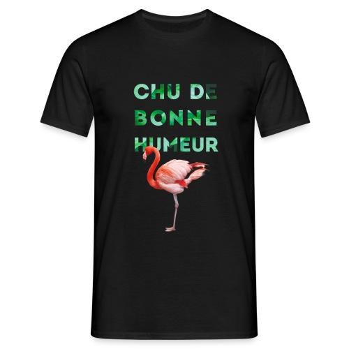 Pl_tshirt_typo flamand_40 - T-shirt Homme