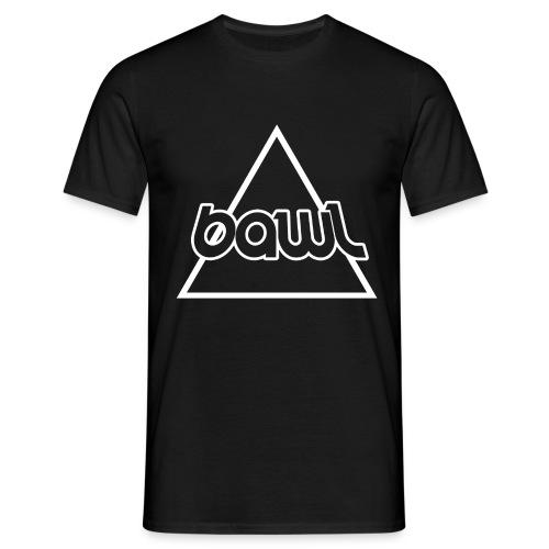 Bawl logo sort - Herre-T-shirt