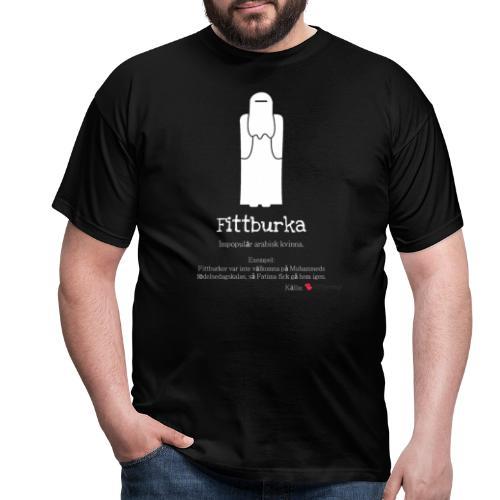 Fittburka - T-shirt herr