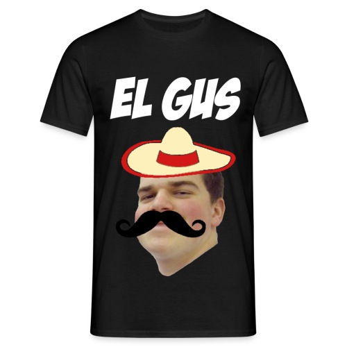 El Gus White - Men's T-Shirt