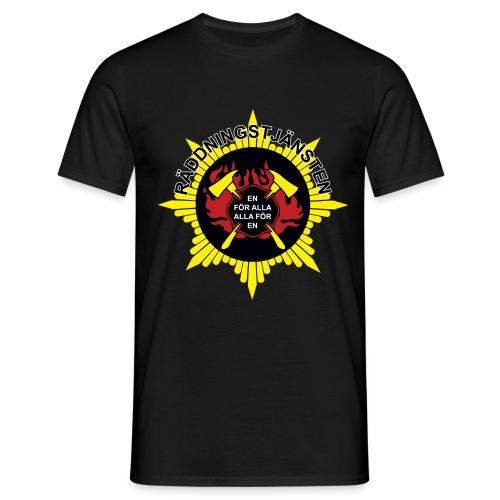 Emblem Alla för en - T-shirt herr