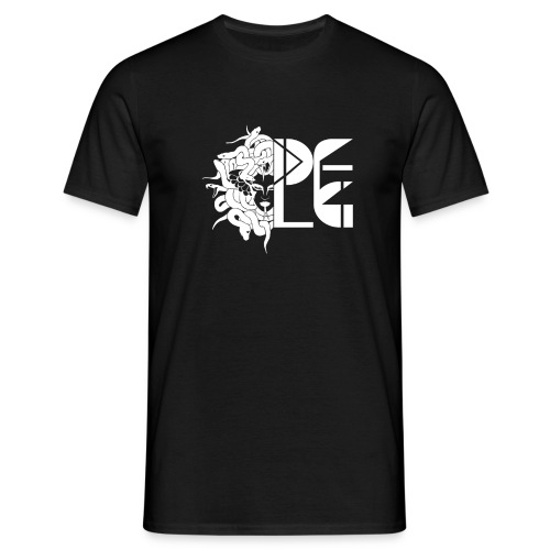 DFLG medusahalf white png - T-shirt Homme