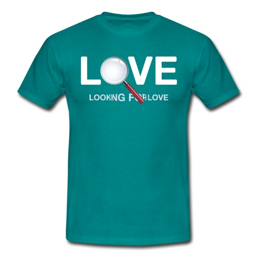 Looking for Love - Men's T-Shirt