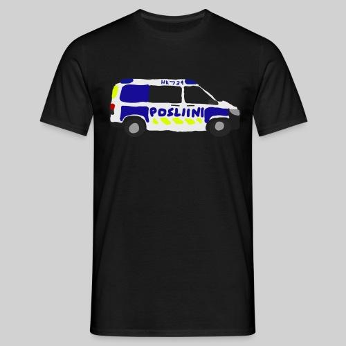 Posliini-Auto - Miesten t-paita