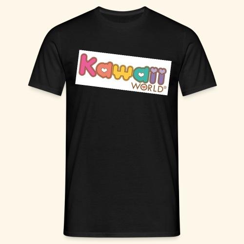 kawaii world - Camiseta hombre