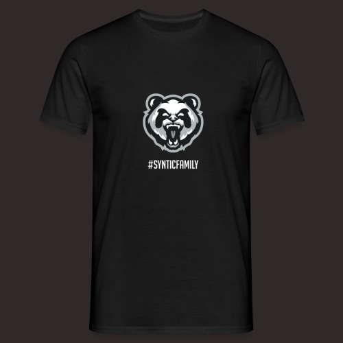 SynticFamilyWhite png - Männer T-Shirt