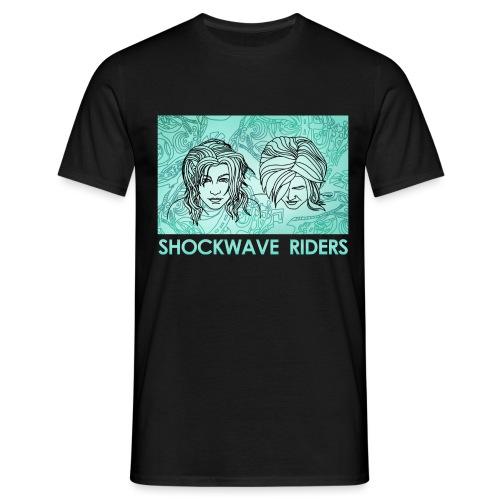 Shockwave Riders Faces again - Männer T-Shirt