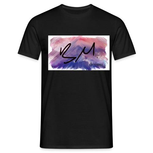 bm design brushstroke - Men's T-Shirt