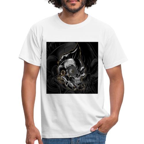 Nareku logo with background - Men's T-Shirt