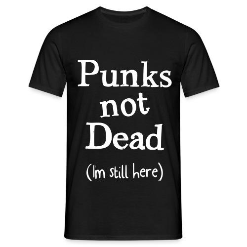 punks not dead - T-shirt herr