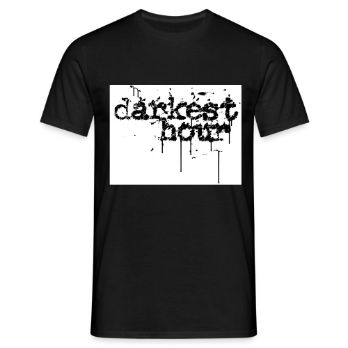 1295524372 darkesthour logo jpg - Männer T-Shirt