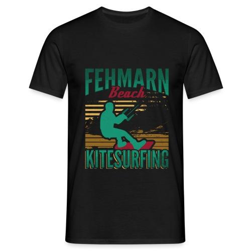 Kitesurfing Fehmarn - Männer T-Shirt