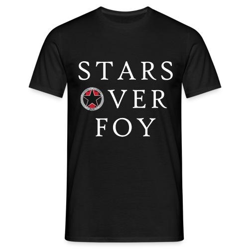 starsoverfoy large logo shirt - Men's T-Shirt