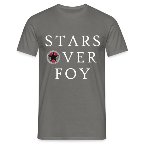 starsoverfoy large logo shirt - Men's T-Shirt