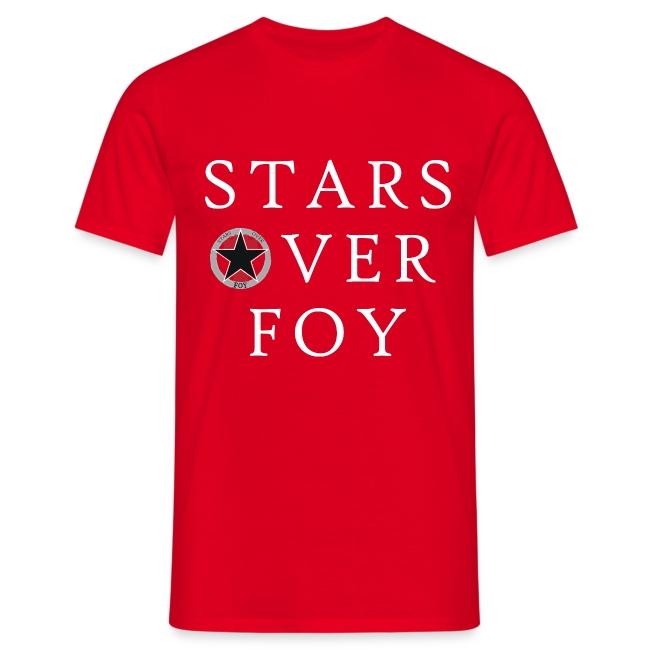 starsoverfoy large logo shirt