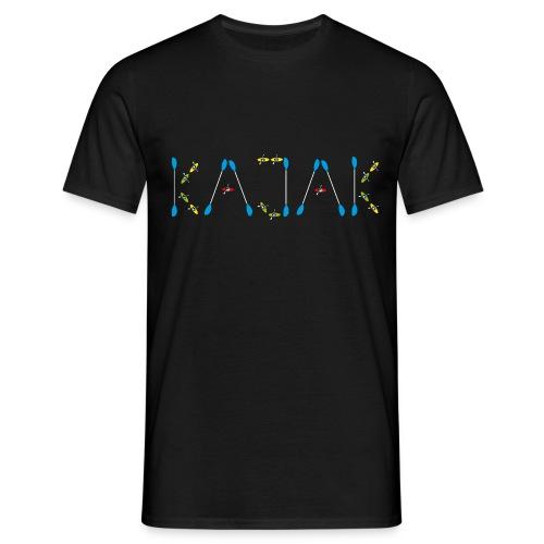 Kajak für Wildwasser Kanuten - Männer T-Shirt