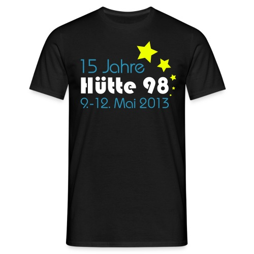 15 Jahre Hütte 98 Design - Männer T-Shirt
