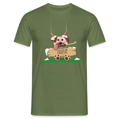 Happy Birthday - Men's T-Shirt