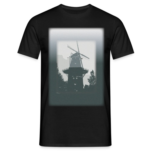 Mills grey - Men's T-Shirt