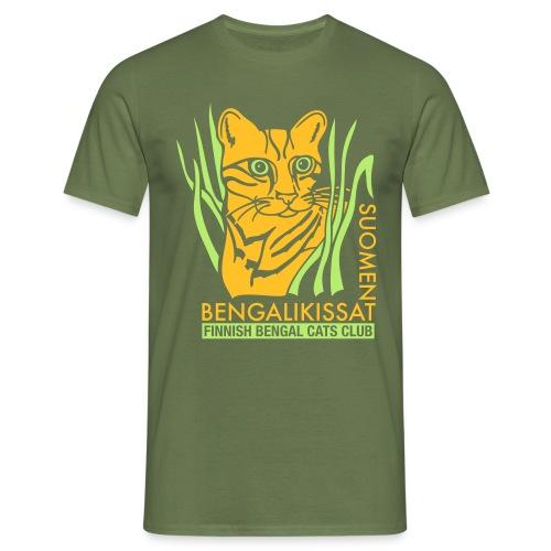 Bengaliligo mustalle - Miesten t-paita