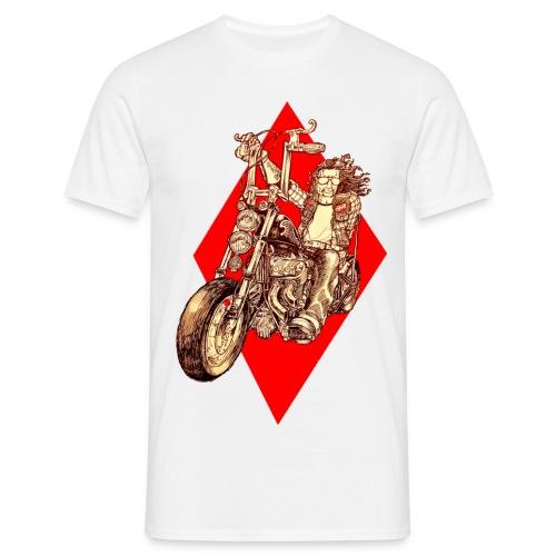 Diamond Biker - Men's T-Shirt