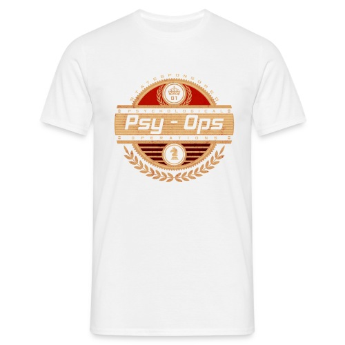 PSY - OPS RED - Men's T-Shirt
