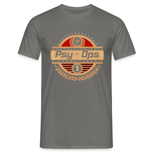 PSY - OPS RED - Men's T-Shirt