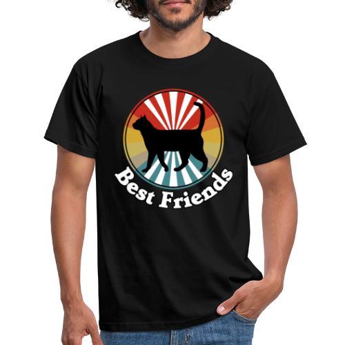 Best Friends - Ich liebe Katzen - Männer T-Shirt