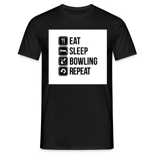 Bowl4life - T-shirt herr