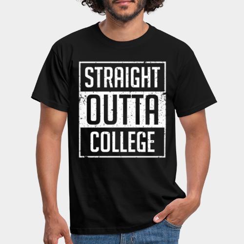 tout droit sorti du collège - T-shirt Homme