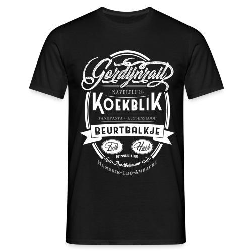Koekblik - Mannen T-shirt
