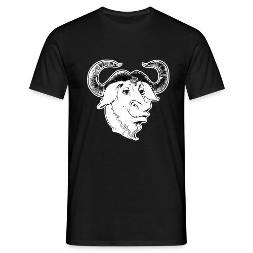 GNU Head - Männer T-Shirt