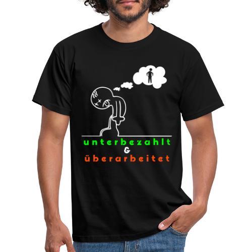 überarbeitet - Männer T-Shirt