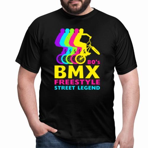 BMX 80's Freestyle Street Legend Retro Bmx Bike - Men's T-Shirt
