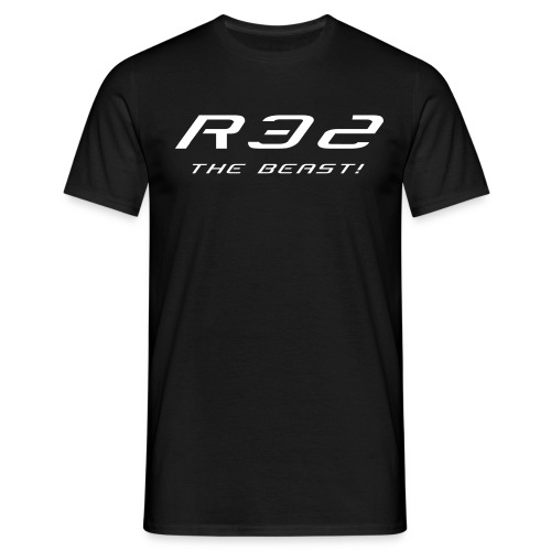 Golf R32 - The Beast - Männer T-Shirt