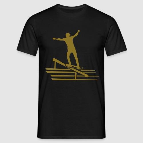 Skateboard - Männer T-Shirt