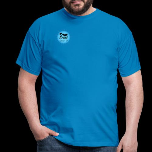Stay Home (Blue) - Men's T-Shirt