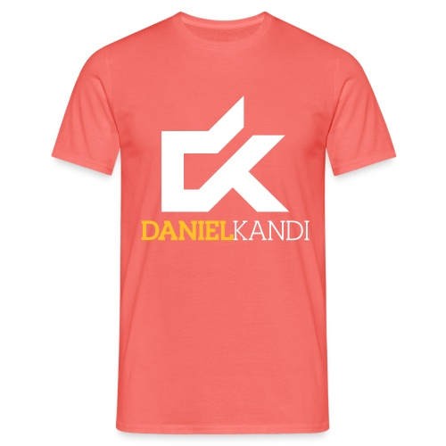 kandi black background - Men's T-Shirt